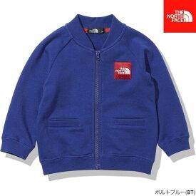 【2021春夏】ノースフェイス ベビー ジャケット THE NORTH FACE [ NTB11961 ] B Sweat Logo Jacket スウェットロゴジャケット(80-90cm)