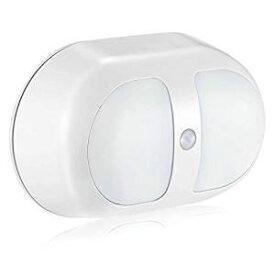 [センサーライト 電池式]人感センサー led ウォールタイプ 光感知センサー ライト 電源コードレス センサーライト 屋内 電池式 雰囲気を作り 緊急時用ライトとしても使える 両面テープ/日本語取り扱説明書付き
