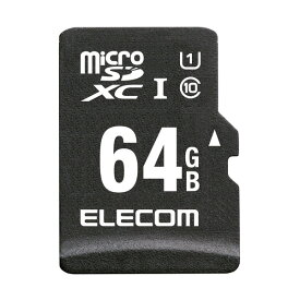 elecom エレコム microSDXCカード / 車載用 / MLC / UHS-I / 64GB