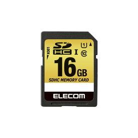 elecom エレコム SDHCカード / 車載用 / MLC / UHS-I / 16GB