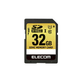 elecom エレコム SDHCカード / 車載用 / MLC / UHS-I / 32GB