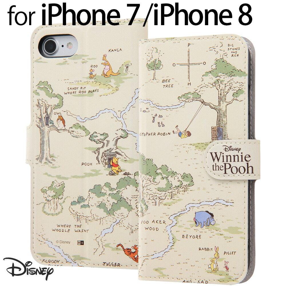 iphone7 手帳型 プーさん iphone7ケース 手帳型 くまのプーさん 24 プーさんグッズ iphone 7 iphone 7ケース ディズニー iphone8 ケース 手帳型 プーさん