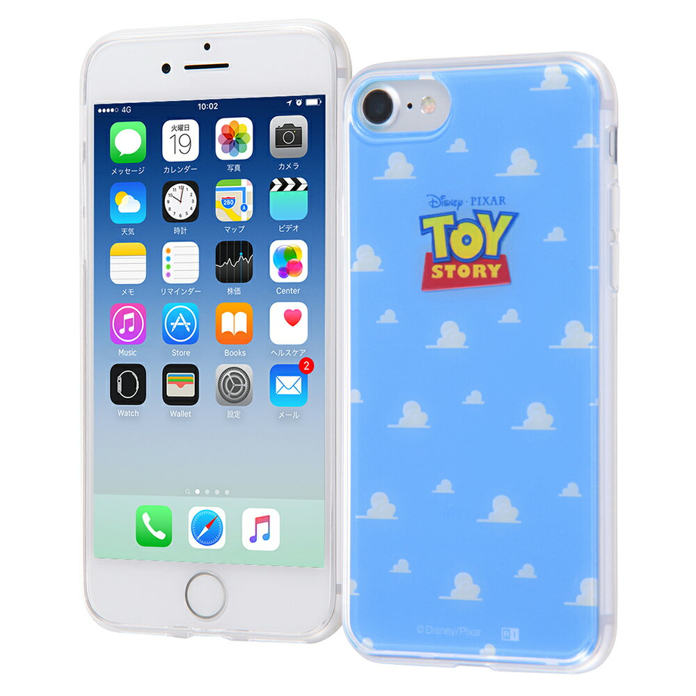 iphone7ケース トイストーリー TPUケース + 背面パネル トイ・ストーリー 17 ストーリー iphone ディズニー iphone7