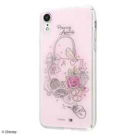 iPhone XR ケース ディズニー プリンセス キャラクター OTONA TPUケース+背面パネル オーロラ