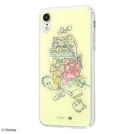 iPhone XR ケース ディズニー プリンセス キャラクター OTONA TPUケース+背面パネル ベル
