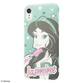iPhone XR ケース ディズニー プリンセス キャラクター TPUソフトケース Colorap ジャスミン / 夢見るプリンセス アイフォン カバー