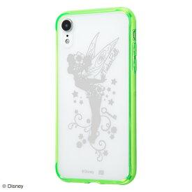 iPhone XR ケース ディズニー キャラクター ハイブリッドケース カバー / ティンカー・ベル
