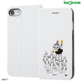 iPhone8 iPhone7 ケース 手帳型 ムーミン 手帳型ケース マグネットタイプ/シンプル_3 iPhone se2 iPhone SE 第2世代