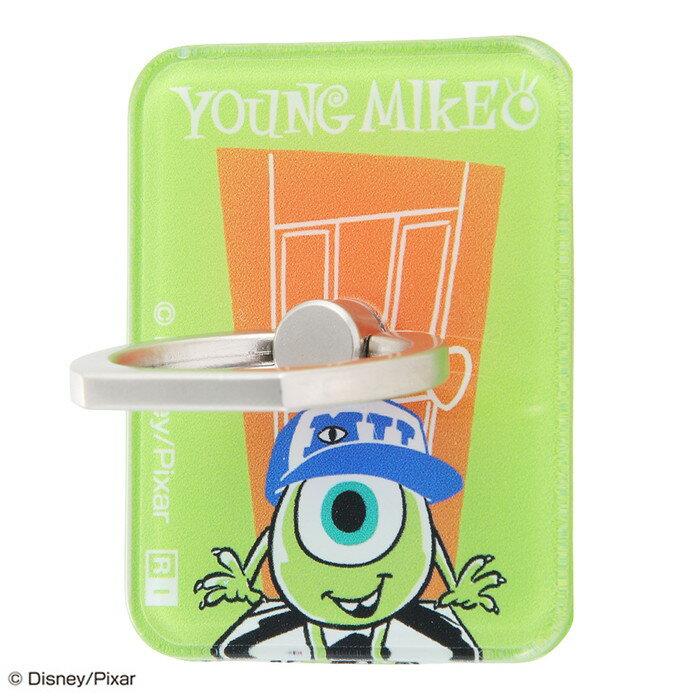 スマホリング モンスターズインク バンカーリング ホールドリング 落下防止 360 スマートフォン用リング アクリル マイク /Door