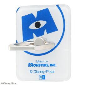 スマホリング モンスターズインク バンカーリング ホールドリング 落下防止 360 スマートフォン用リング アクリル モンスターズ・インク /ロゴ
