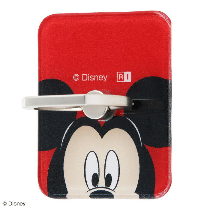 スマホリング ディズニー キャラクター バンカーリング ホールドリング 落下防止 360 スマートフォン用リング アクリル ミッキーマウス /ひょっこり