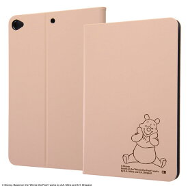ipad mini ケース 2019 7.9inch 第5世代 ディズニー キャラクター レザーケース / くまのプーさん ipad mini5 カバー