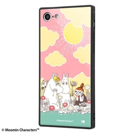 iphone8 ケース スクエア ムーミン グッズ iphone7ケース 耐衝撃ケース KAKU トリプルハイブリッド / コミック アイフォン8 カバー 四角
