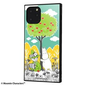 iphone11 pro ケース スクエア ムーミン 耐衝撃ハイブリッドケース kaku コミック_3 iphone11pro カバー キャラクター