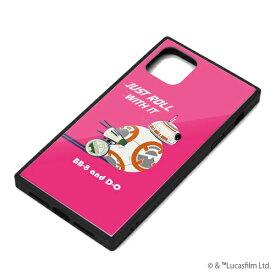 iPhone11 Pro Max ケース ガラスハイブリッドケース BB-8
