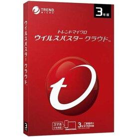 ウイルスバスター クラウド 3年版 PKG TICEWWJFXSBUPN3701Z