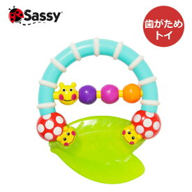 Sassy(サッシー) カミカミあおむし 旧:キャタピラー&レディバグ・ティーザー 歯がため 正規品
