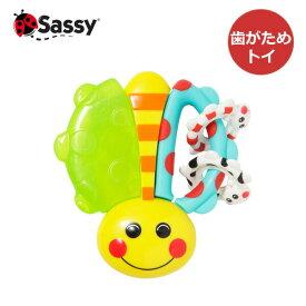 Sassy(サッシー) カミカミてんとうむし 旧:リンク・アロング・レディバグ 歯がため 正規品