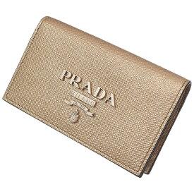 (プラダ)PRADA サフィアーノレザー カードケース 箱ギャラ 1MC122【中古】