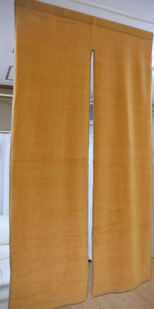 【のれん】【85x150cm】在庫処分のため、特価S★防寒★保温★あったか雑貨 フリースのれん【インテリア】【K-04a】