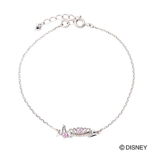 【期間限定50%OFF】即日発送 Disney Series ディズニー/シンデレラ/ガラスの靴 ティアラ ブレスレット シルバー DI502RD