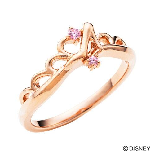 【期間限定50%OFF】即日発送 Disney Series ディズニー/シンデレラ/ガラスの靴 ティアラ ハート リング 指輪 ピンク DI506PG