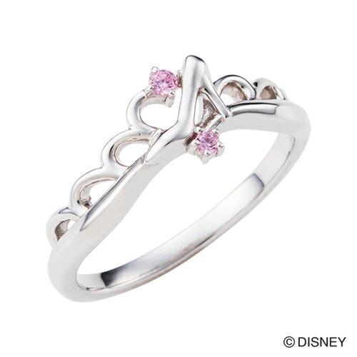 【期間限定50%OFF】即日発送 Disney Series ディズニー/シンデレラ/ガラスの靴 ティアラ ハート リング 指輪 シルバー DI506RD