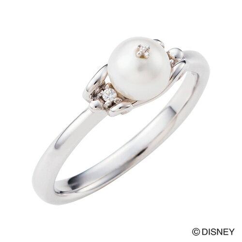 【期間限定50%OFF】即日発送 Disney Series ディズニー/シンデレラ/カボチャの馬車 パール リング 指輪 DI509RD