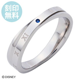 刻印無料 7〜21号『シンデレラ』 リング ディズニー Disney 指輪 DIST500SV white clover カップル