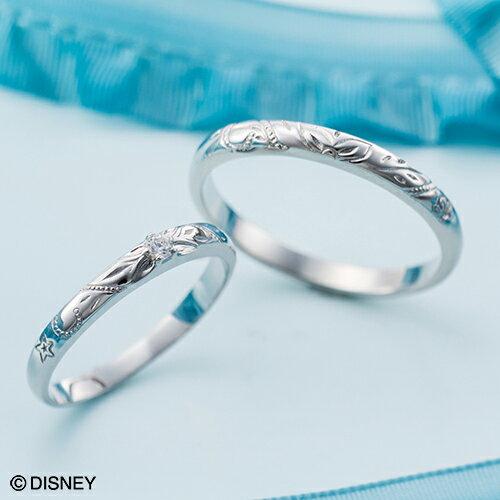 ディズニー マリッジリング「リトル・マーメイド」結婚指輪 マリッジリング 3〜23号 ハワイアン デザイン ペアリング DIPR004L&DIPR004M