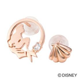 【white clover Disney Series】ディズニーリトルマーメイド/ピアス2個set&オリジナルBOX/ピンク DI202PG クリスマス white clover