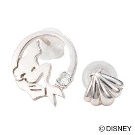 【white clover Disney Series】ディズニーリトルマーメイド/ピアス2個set&オリジナルBOX/シルバー DI202RD クリスマス white clover