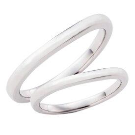 結婚指輪 マリッジリング 3〜21号 プラチナ950 Pt950 ウェーブ カーブデザイン ペアリング WPR551&WPR551