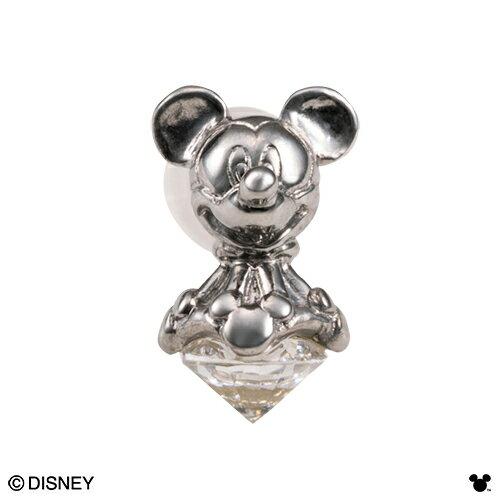 【期間限定50%OFF】即日発送 Disney Series ディズニー/ミッキーマウス/立体デザイン ピアス(1個/片耳用) ブラック DI012MBK