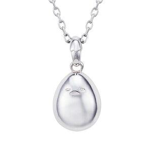 ネックレス ぐでたま サンリオ ゆでたまご ペンダント シルバー SAGU-N052RD white clover カップル