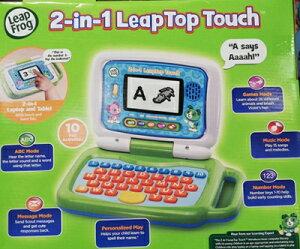 即納★【COSTCO】コストコ通販【Leap Frog 2-In-1 Leaptop Touch】リープフロッグ 2-in-1 リープトップタッチ
