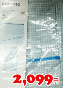 5の倍数日は楽天カードエントリーで5倍/【IKEA】イケア通販【KLAMMIG】掛け布団カバー&枕カバー(ベビーベット用)(110x125/35x55cm)(ターコイズ)