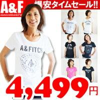 【アバクロレディースTシャツ全9色】
