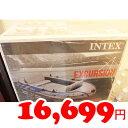 即納★【COSTCO】コストコ通販【INTEX】インテックス エクスカーション4 ボートセット(オール2本&ポンプ1個付き)
