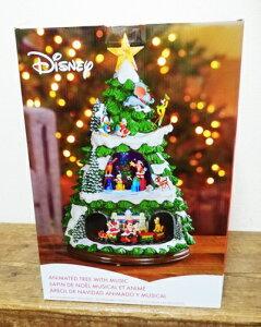 5の倍数日は楽天カードエントリーで5倍★即納★【COSTCO】コストコ通販【DISNEY】ディズニー クリスマスツリー 高さ約45cm クリスマスソング収録