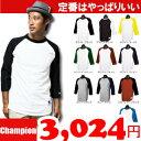 チャンピオン7分袖ラグランTシャツ全10色【Champion】(Men)/通販
