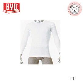 B.V.D. GOLD ビーブイディー 丸首 8分袖 Tシャツ G017 LL 紳士 メンズ 男性 下着 肌着 インナー アンダーウェア アンダーシャツ 綿100% コットン bvd BVD