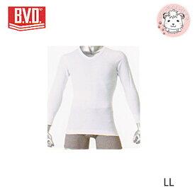 B.V.D. GOLD ビーブイディー U首 8分袖 Tシャツ G018 LL 紳士 メンズ 男性 下着 肌着 インナー アンダーウェア アンダーシャツ 綿100% コットン bvd BVD