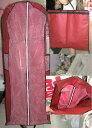 全3色 ドレスカバー 衣類カバー 衣装カバー 移動 持ち運び 保管 収納 ロング 海外 ウエディングドレス パーティードレス ショート ミニ ワンピース コート...