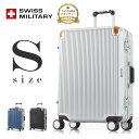 [スーツケース] SWISS MILITARY スイスミリタリー [Sサイズ] [32L] [3.8kg] [TSAロック] [軽量] [一年保証] [フレームタイプ] 出張 海…