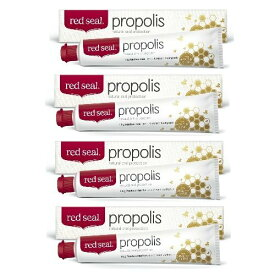 red seal レッドシール プロポリス歯磨き粉 Propolis Toothpaste 160g×4本