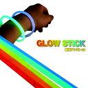 蛍光ブレスレット5色「Glow Stick」50本セット