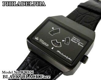 地鐵現代類比數位手錶 WW036 (布拉克/布拉克)