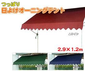 【代引き不可】つっぱり日よけオーニングテント【OWT 2.9×1.2m】