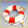 구명 수영 튜브 인형 (레드)